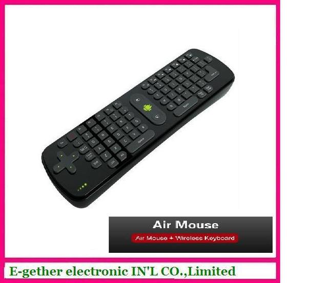 free shipping cost by HK post mail for Measy RC11 Seneor Remote,Fly air mouse+wilress mouse + remote control