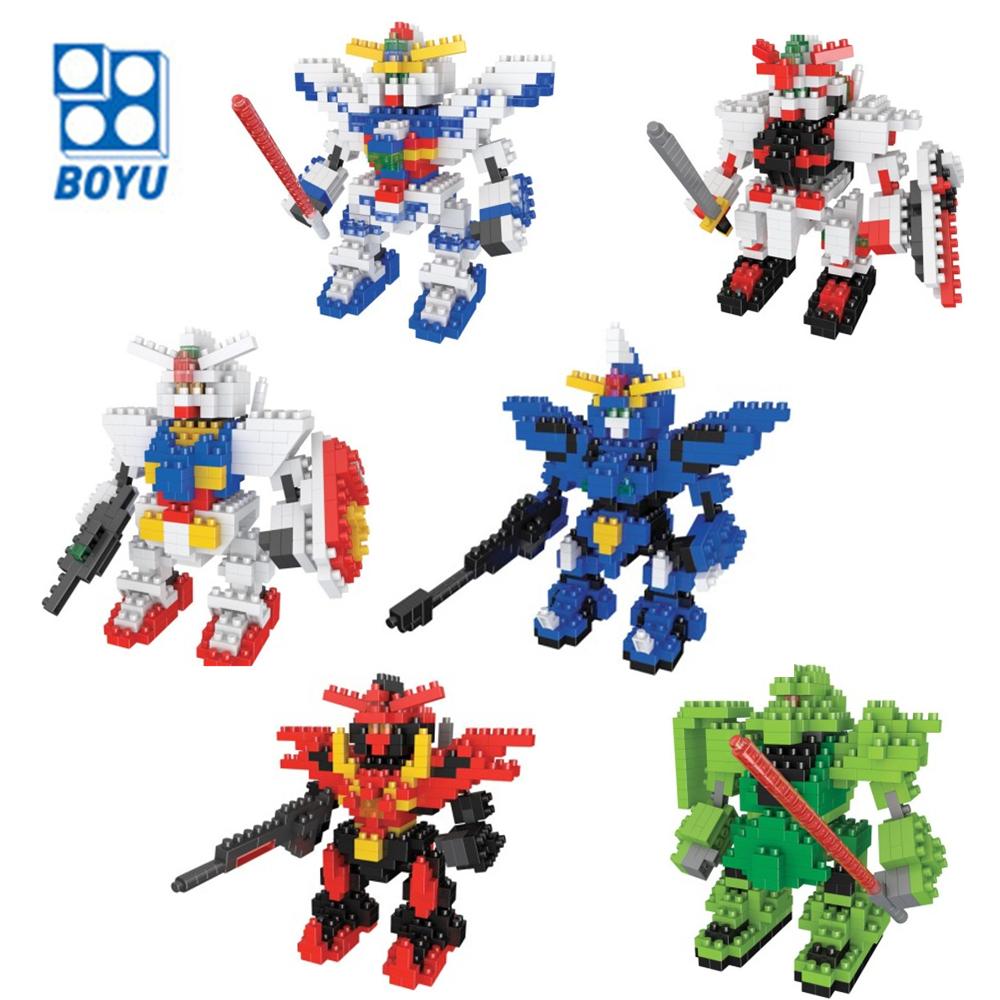9cm Mobile suit Gundam Diamond Building Blocks 6 Styles Action Figure Model Toys Gift for Children 9+(China (Mainland))