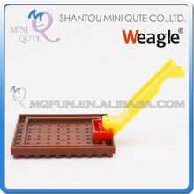 Mini Qute Weagle 3D puzzle diamond plastic cube building  bricks Disassemble tools parts educational toy(China (Mainland))
