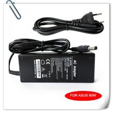 90W AC/DC Adapter for Asus K53/K53B/K53BY/K53E/K53F/K53J/K53S/K53SD universal laptop charger caderno cargador carregador + Cord
