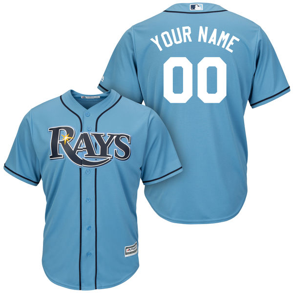 2016 MLB Tampa Bay Rays Alternate Collection Custom Jersey Cool Base Player Jersey Baseball Jersey with Stitched(China (Mainland))