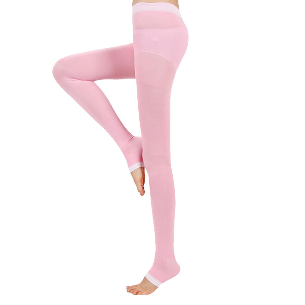 women collant and tights seamless pantyhose youth of color pink cute blue cute girl's love medias compresion solid collant #100(China (Mainland))