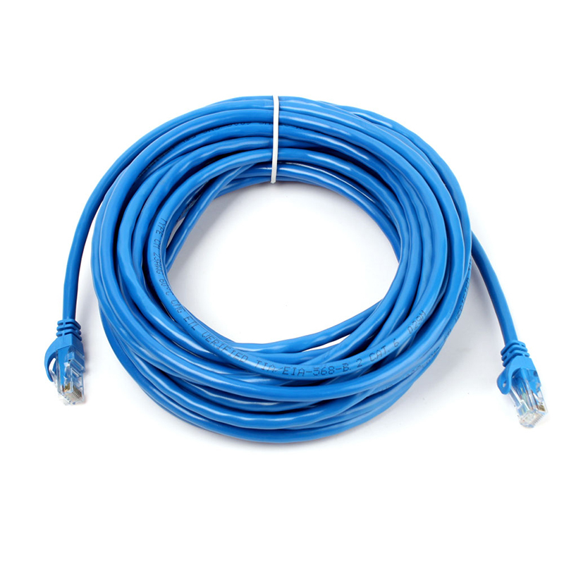 New 60FT 20M CAT6 CAT 6 Round UTP Ethernet Network Cable RJ45 Patch LAN Cord #69793(China (Mainland))