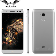 Original ZTE Blade A2 Cell Phone 5 inch 2GB RAM 16GB ROM MTK 6750 Octa Core 1.5GHz Android 5.1 FDD LTE 16.0MP Camera Fingerprint
