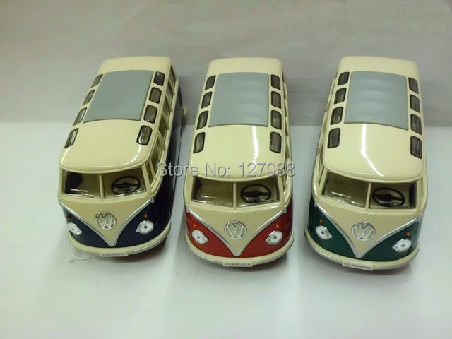 Diecast minibus alloy car model toy 1:24 KT open the door school bus(China (Mainland))