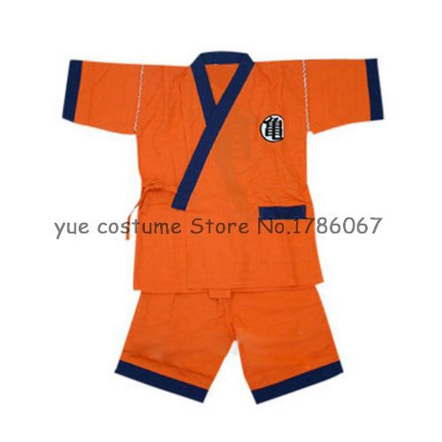 Dragon Ball Practice Suit Cosplay Costume(China (Mainland))