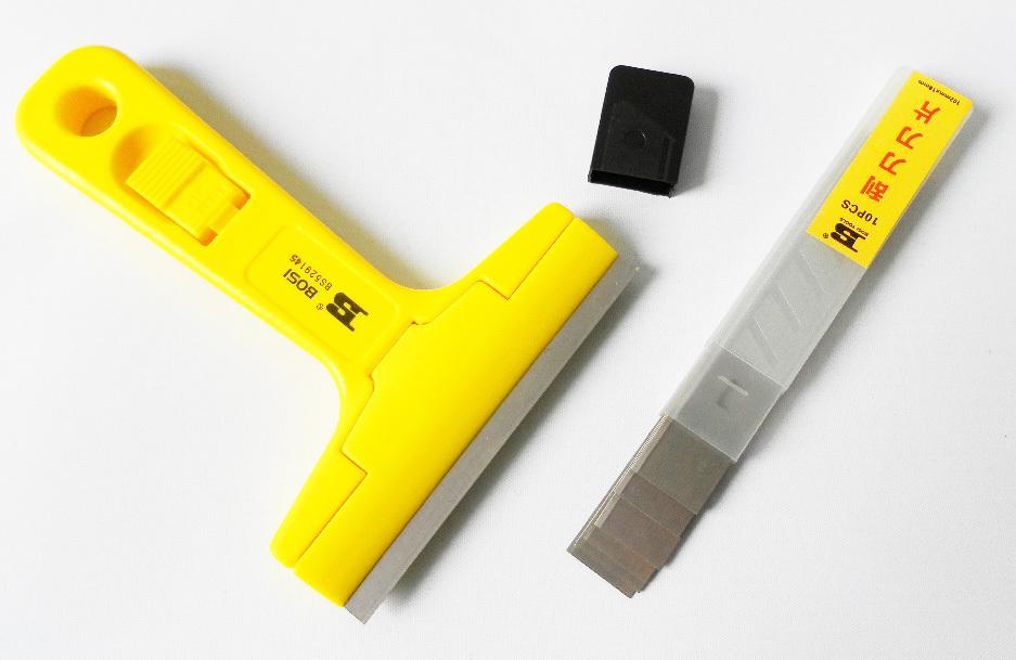 Гаджет  Free shipping BOSI 14.5*10cm tile glass wall and floor knife scraper None Инструменты