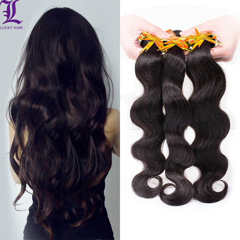 Remy Queen Hair 6A Unprocessed Peruvian Hair Weave Top Grade Peruvian Virgin Hair Extension Body Wave Human Hair 3pcs/lot<br><br>Aliexpress