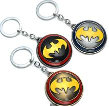 The movie Batman can rotate around the hot alloy key buckle aliexpress rotating accessories wholesale trade
