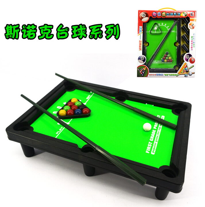 Children's snooker mini billiard table desktop balls kids game with balls and rod 30X21X7CM(China (Mainland))
