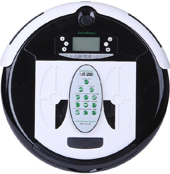 (Free to Russia) Robot Vacuum Cleaner, Multifunctional(Vacuum,Sterilize,Mop,Flavor),Virtual Wall,Schedule,Self Charge,LCD Screen(China (Mainland))