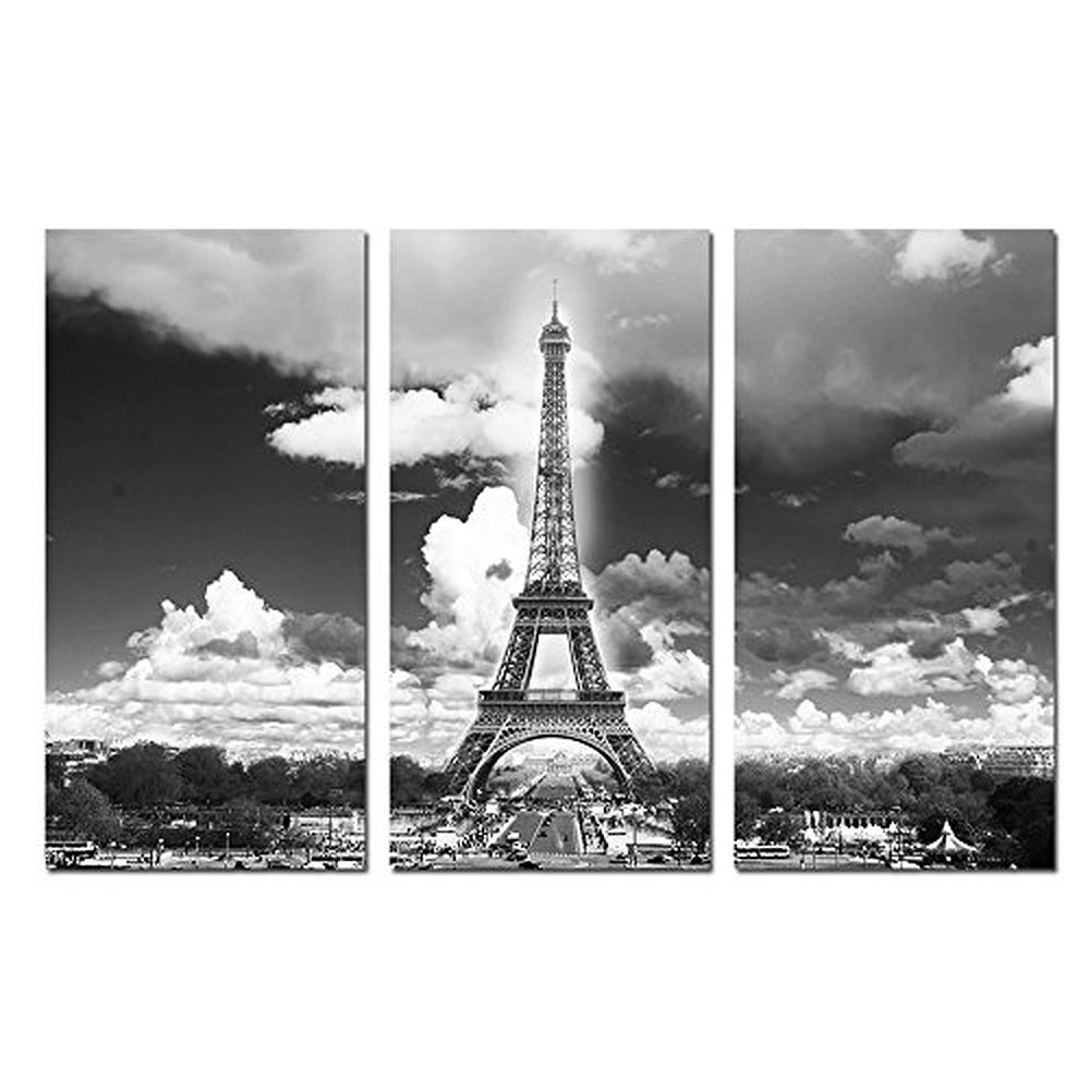 Popular photos cityscapes buy cheap photos cityscapes lots for Eiffel tower wall mural black and white