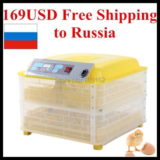 Инкубатор для куриных яиц HHD 12V 176 USD ons HHD-96A инкубатор какой фирмы лучше купить