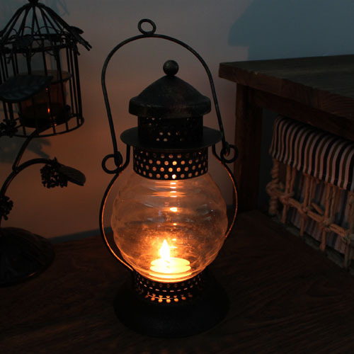 Antique iron oil lamp lantern hanging lamp home decoration antique 806(China (Mainland))