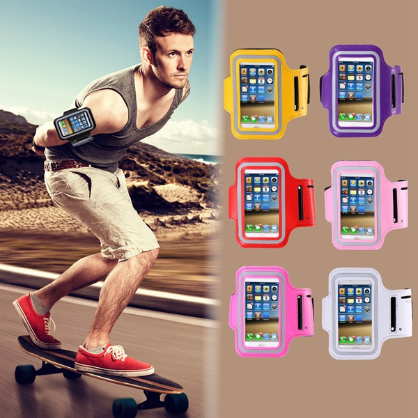 For iPhone 5 5s 5g Waterproof Arm band GYM Workout Brush Case for apple 5S Casual Sport Accessories Cases Running Jogging Cover(China (Mainland))