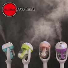 1pcs 12V Mini Portable Air Car Humidifier air freshener 50ml Electric Essential Aroma Diffuser Mist Maker Fogger Purifier(China (Mainland))