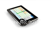 2013 Newest 4.3inch JTD GPS Navigation+128RAM+4G memory+ 800MHZ car navigation FM transimitter window CE 6.0 load New 3D Map