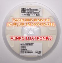 full reel 1% 0805 35.7R 35.7 OHMS 1/8W SMD Chip Resistor 5000pcs/reel YAGEO New Original Fixed - Viinko Electronics store
