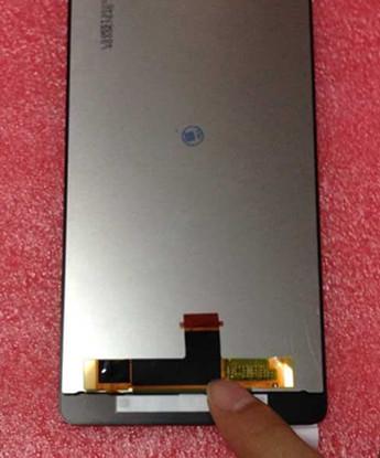 Жк-дисплей + сенсорный экран планшета для zte нубии z7 макс nx505j черный