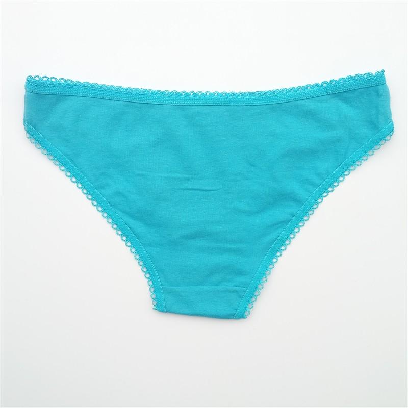 FUNCILAC Free shipping 5pcs/lot Women's cotton panties Girl Briefs Ms. cotton thong sexy fashion thong sexy thong underwear