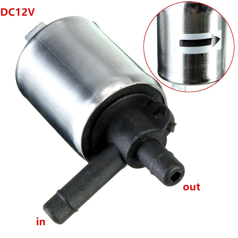 DC 12V Solenoid Valve Metal Shell for Gas Water Air N/C Normally Closed Valves 0~0.4MPA(China (Mainland))