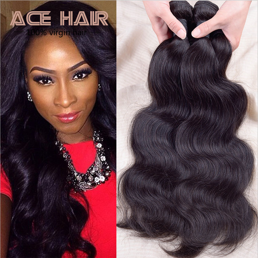 Queen Virgin Remy Indian Body Weave 3pcs Virgin Indian Hair Weft Indian Virgin Hair 7a Free Shipping Human Hair Indian Weave