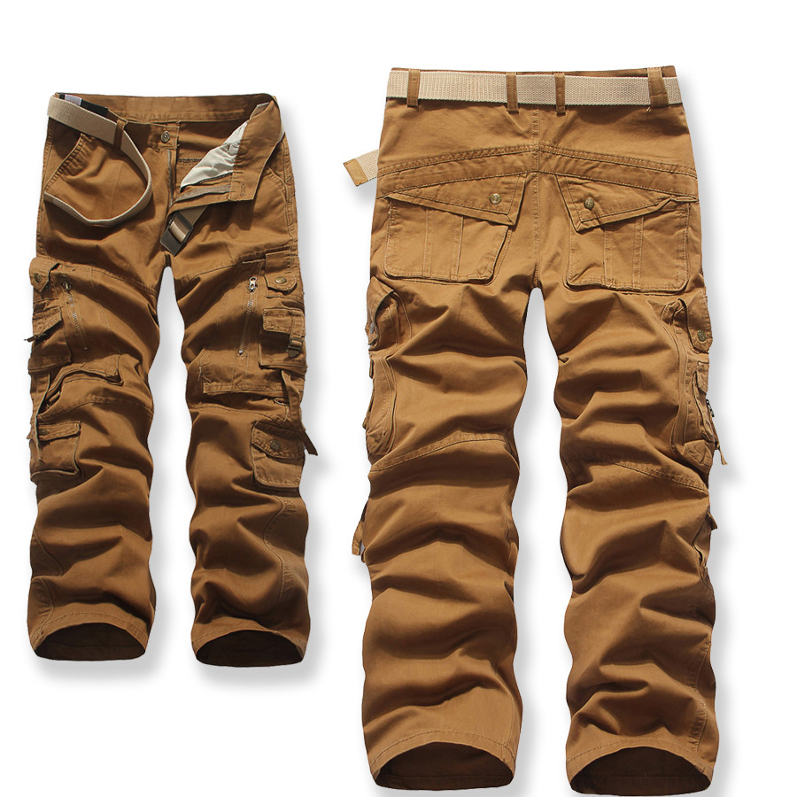 Cargo Pants With Lots of Pockets b Cargo Pants Multi-pocket