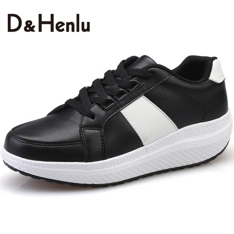 d h pu leather 2016 autumn shoes casual
