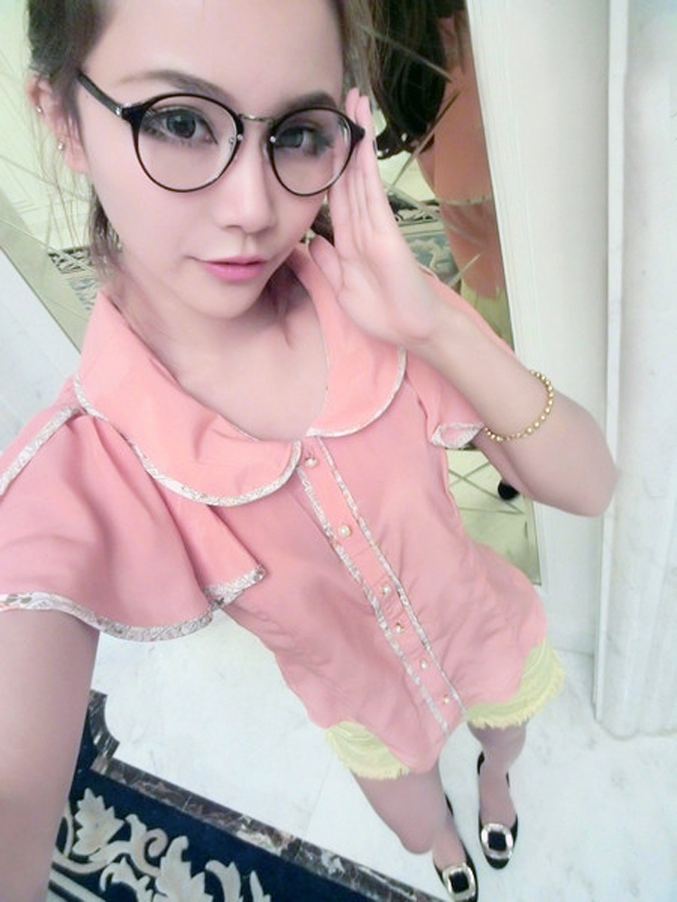 Cute Style Vintage Glasses Women Glasses Frame Round Eyeglasses Frame Optical Frame Glasses Oculos Femininos Gafas