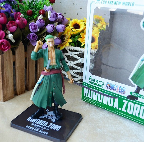 Free Shipping Anime One Piece Zoro 6″ 15cm Two Years Later One Piece PVC Action Figures Toy Doll Model Collection