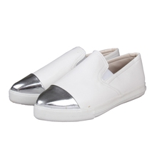 High Quality European Fashion Spring Summer Women Shoes Slip On Wedge Sneakers Ballerina Loafer Comfortable Flats
