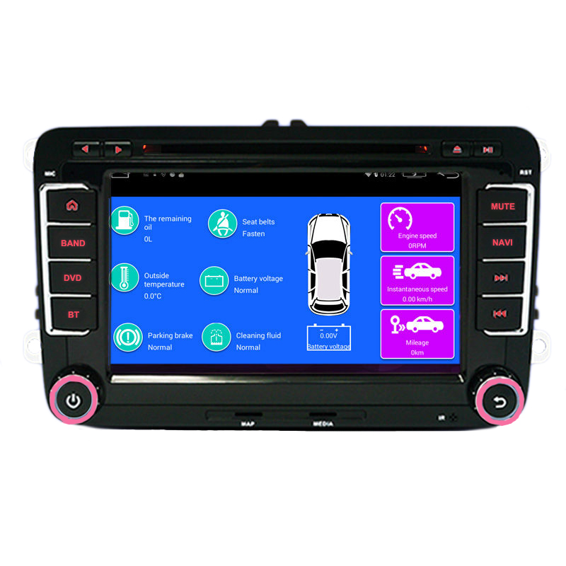 7 Quad core 1 6GHz 2G RAM Android vw font b car b font dvd for