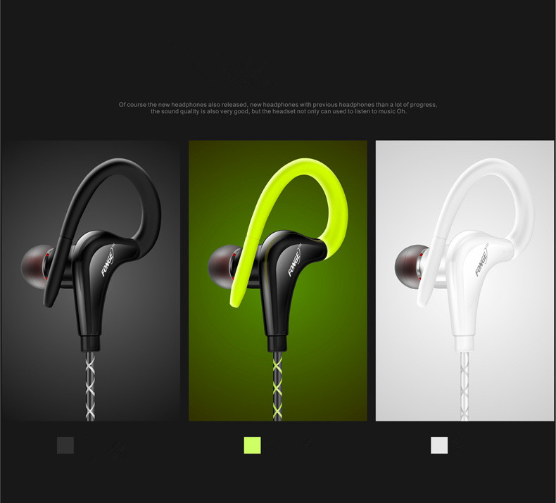 fone de ouvido for HUAWEI xiaomi mobile phone Headset Stereo Microphone Wired font b Sport b