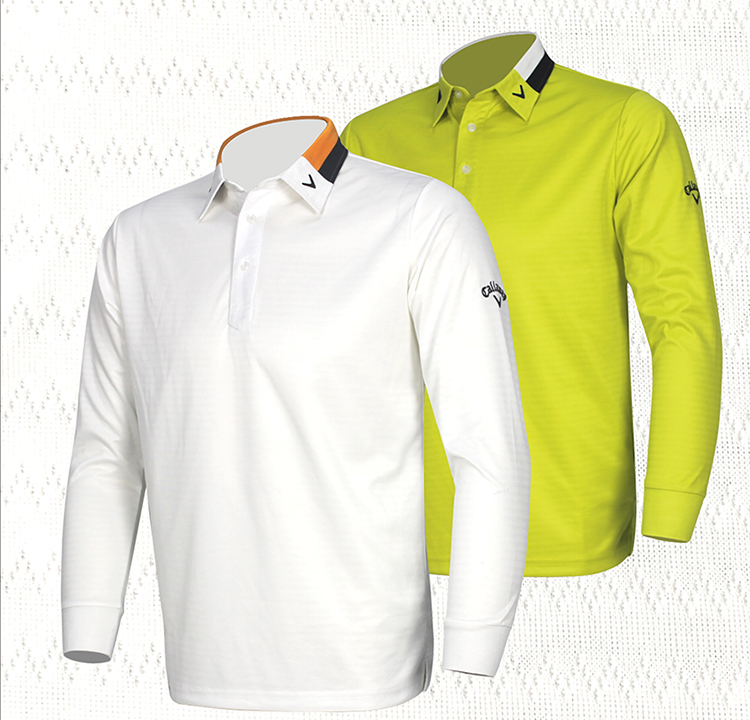 2014 new design golf shirts top quality sport clothes fashon outdoor long-sleeve golf shirt autumn Men thermal quick-drying
