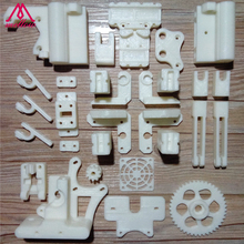 Free shipping DIY RepRap Prusa Mendel i3 ABS plastic Parts Kit Prusa i3 Acrylic frame 3D Printer printed parts / White