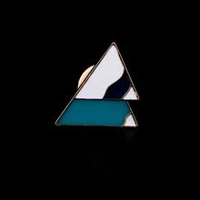 Origami Animali Spille Distintivo Hijab Spille Per Le Donne Ragazze Bambini Carino Coniglio Gufo Volpe Cigno Iceberg Dello Smalto Spille Abbigliamento Accessorie(China)