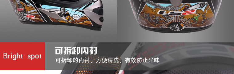 LS2 MX433 motorcycle motocross helmet 3 way helmetsClassic moto Cross Off road motorcycle Helmet ATV motocross helmets