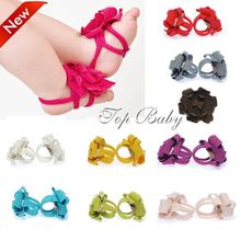 Wholesale,10 colors Baby Sandals, Baby shoes flowers, Toddler footwear ,free shipping(Hong Kong)