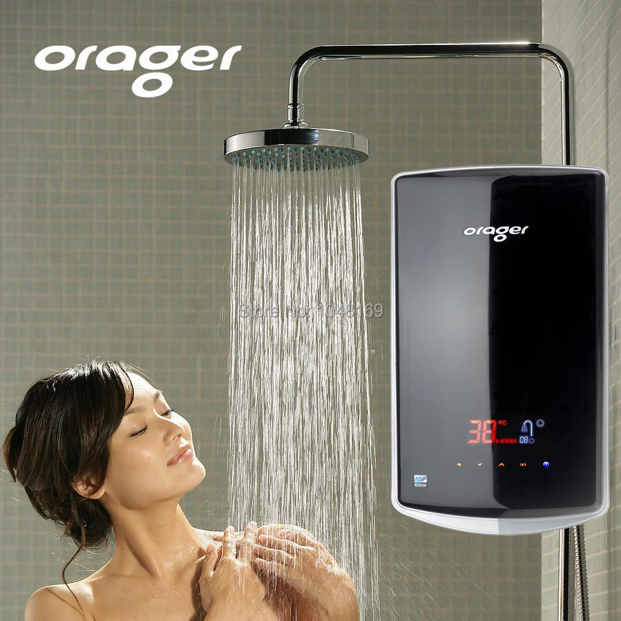Electric instaneous water heater energysaving electrical for 4 bathroom tankless water heater