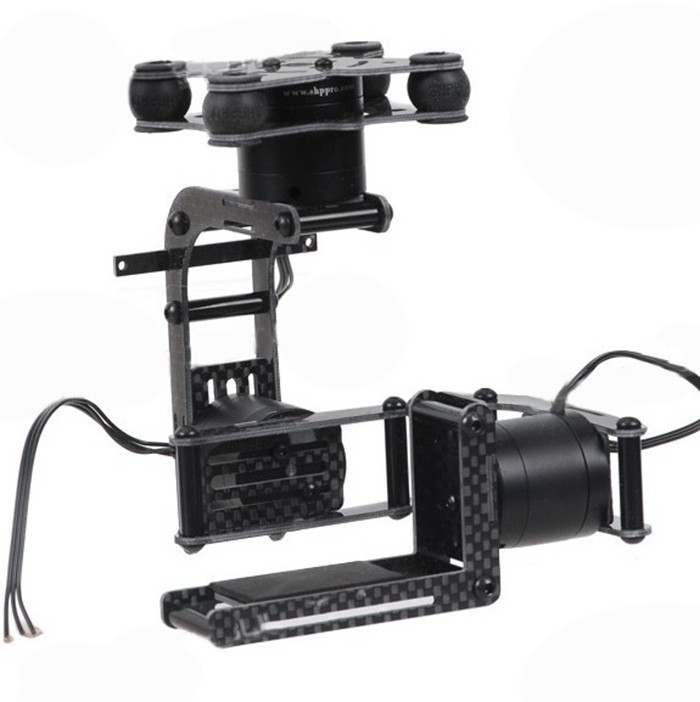 F06920 JMT Carbon 3-Axis Brushless Gimbal Camera Mount W/ 3 Motors Controller