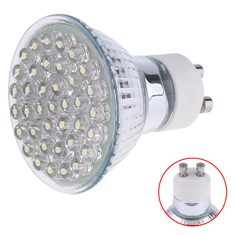 Buy Cold White Gu10 Standard Base 38 Led Light Bulb Energy Saving Lamp 1 5w 200