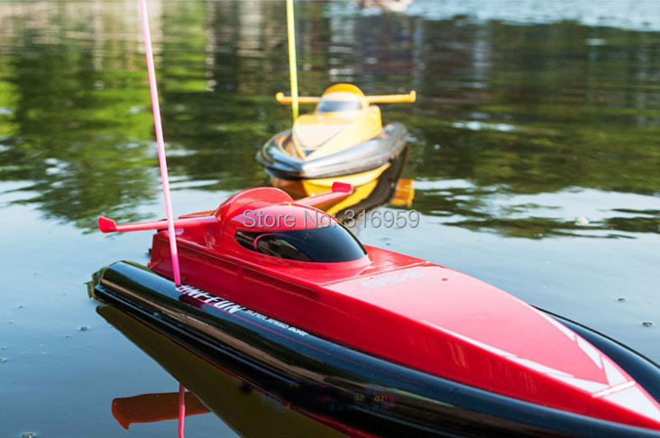 New Radio Control Boat Super Speed Boat Dual Motor With