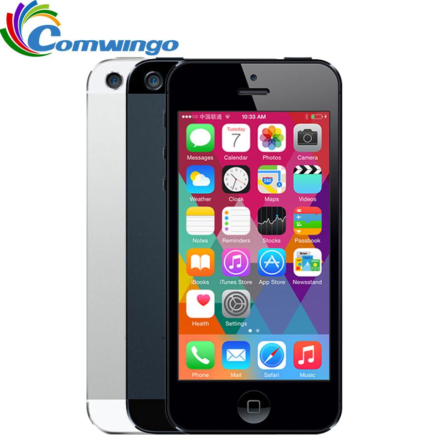 unlocked APPLE iPhone 5 Cell Phone iOS OS Dual core 1G RAM 16GB 32GB 64GB ROM 4.0 inch 8MP Camera WIFI 3G GPS(China (Mainland))