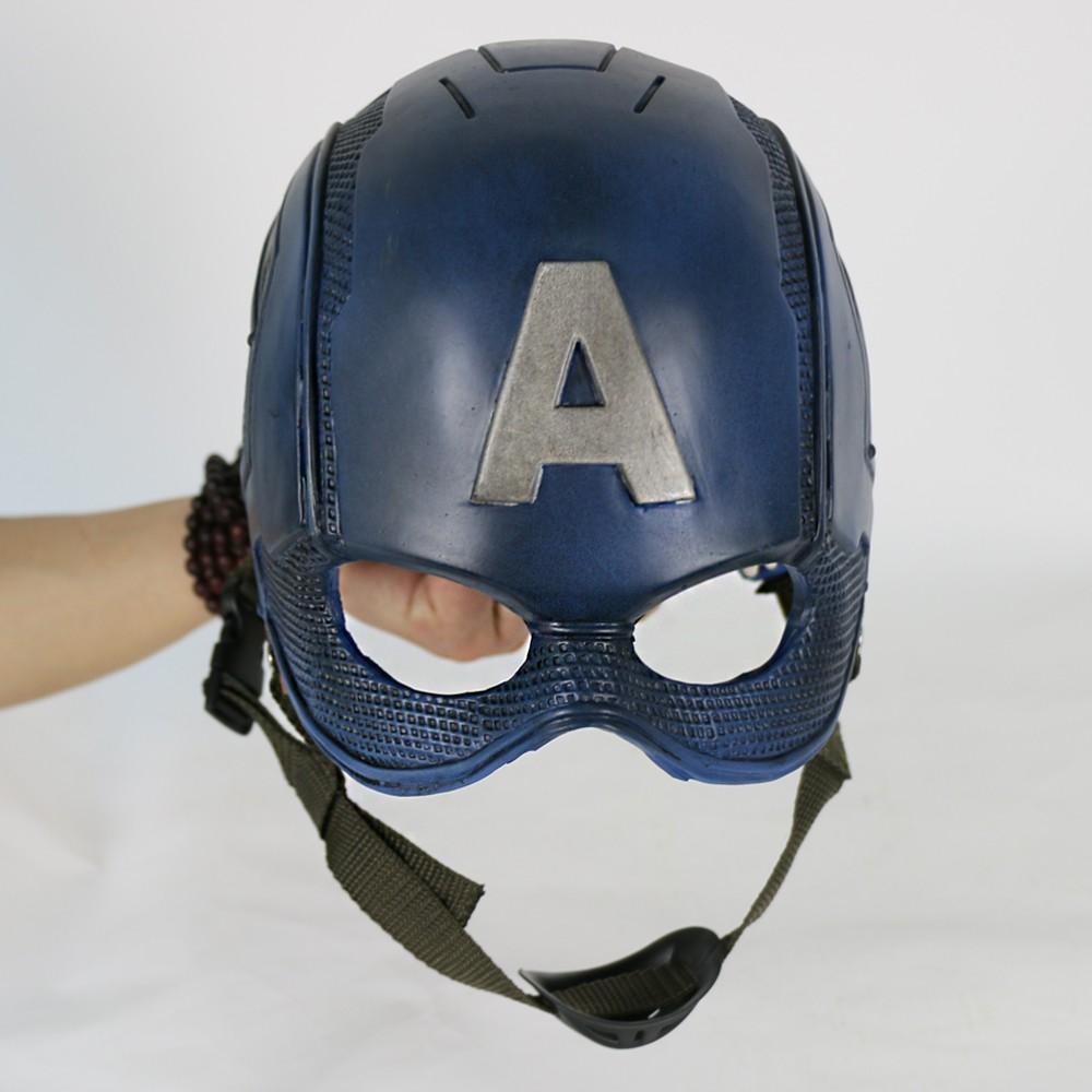 2016 Movie Superhero Helmet Captain America Civil War Helmet Mask Cosplay Steven Rogers Halloween Helmet For Collection55