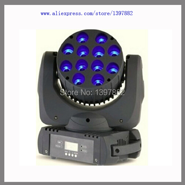China Hot-selling New Product 12x10w RGBW Led Beam Moving Head Light(China (Mainland))