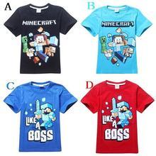 2015 fashion Cartoon Boys kids T-shirt Short Sleeve Cotton Children's Clothes Summer T Shirts(China (Mainland))