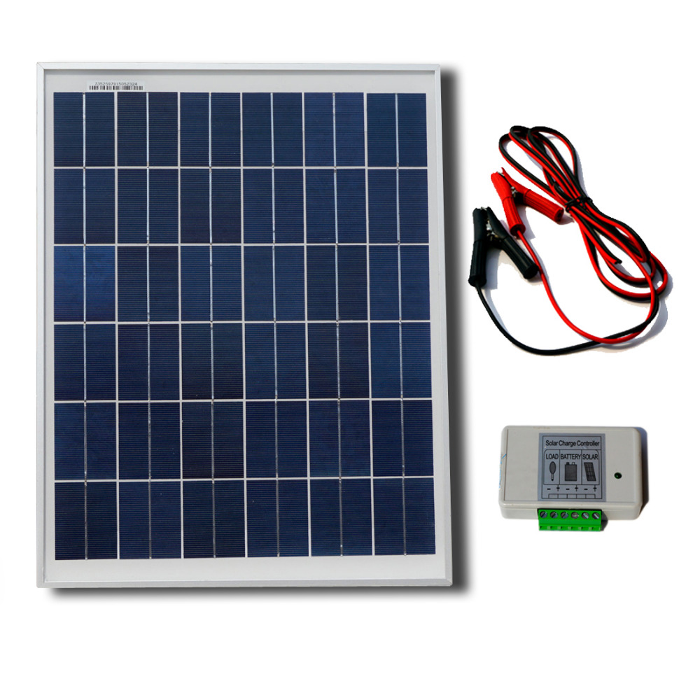 25W 12V solar panel system photovoltaic solar panel For small home lighting system, RV ,cabin, telecom any 12V DC load(China (Mainland))