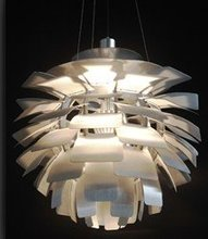 """Higher quality Hot selling 60cm/24"""" PH Artichoke silver/white chandelier suspension lamp(China (Mainland))"""