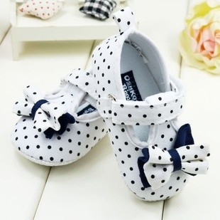 Retail New 2013 Newborn Bowkont Baby First Walkers Shoes Girls Soft Sole 0-12 Month - Online Store 217240 store