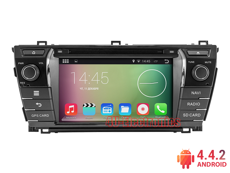 Android Car PC for Toyota Corolla 2013+ with 8 inch 1024*600 Screen DVD Bluetooth Radio RDS Wifi 3G host Free 8GB Map Card(China (Mainland))